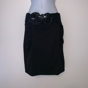 Pencil skirt with belt sz.3
